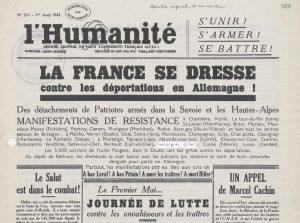 L'humanité 1943