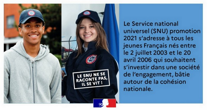 Service national universel 2021